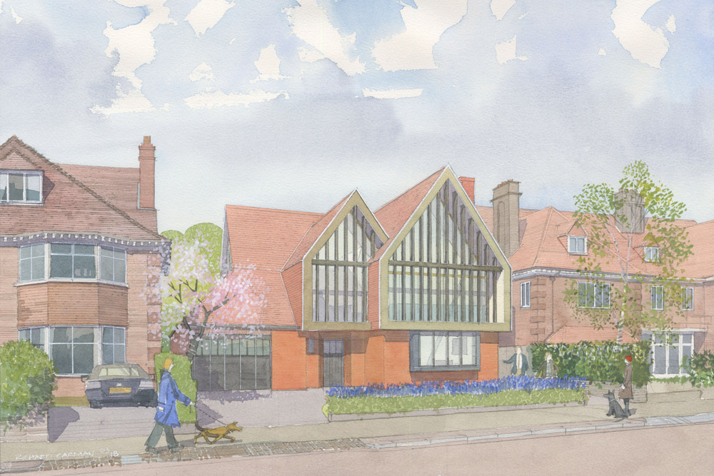 Planning approval for New Build Highgate House