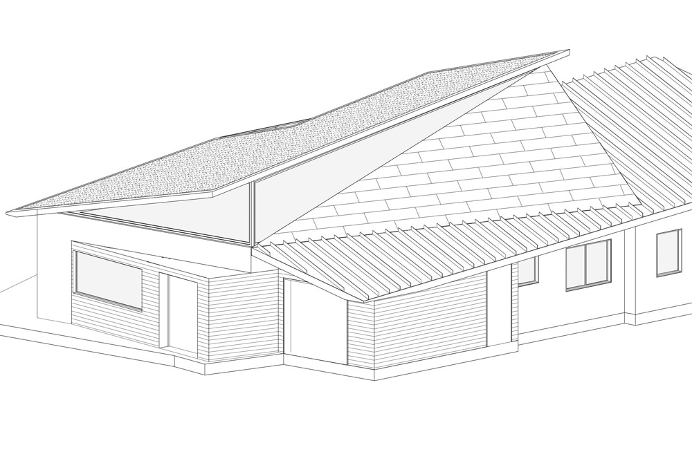 Planning approval for prefabricated house