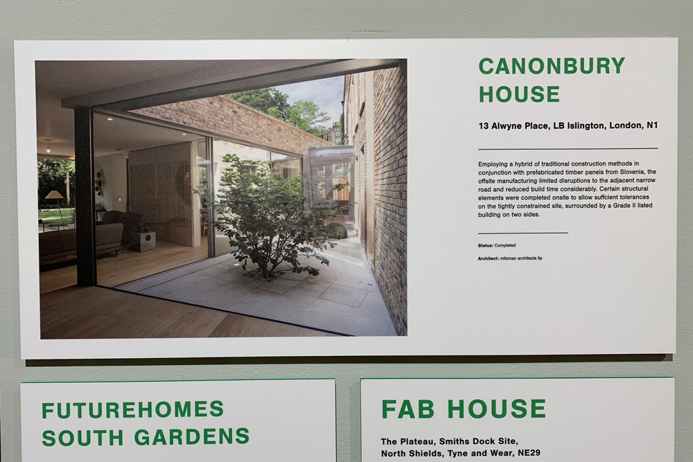 Canonbury House at the Factory Made Housing Exhibition