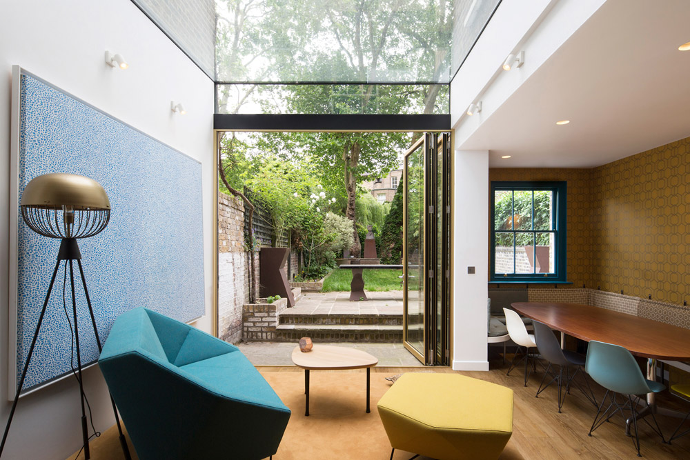 Listed Camden terrace house extension