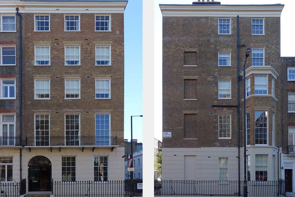 Completed Marble Arch Listed Townhouse